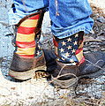 Every Day American Fishing Boots by RD Erickson