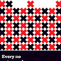 Every No Gets Me closer Typography Art Inspirational Quotes Poster by Lab No 4 - The Quotography Department