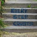 Every Step Counts by Darrell Clakley