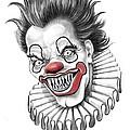Evil Clown  by Murphy Elliott
