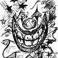 Evil Clown by Nada Meeks