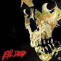 Evil Dead Skull by Marisela Mungia