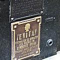 Evita Burial Vault by Jay Milo