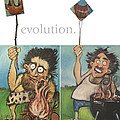 Evolution The Poster by Tim Nyberg