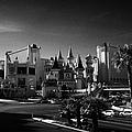 excalibur hotel and casino on the Las Vegas boulevard strip Nevada USA by Joe Fox