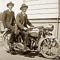 Excalibur Motorcycle Circa 1920 by California Views Archives Mr Pat Hathaway Archives