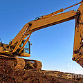Excavator by Olivier Le Queinec