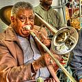 Excelsior Band Horn Player by Michael Thomas