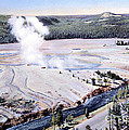 Excelsior Geyser, Yellowstone Np, 20th by NPS Photo/Frank J. Haynes