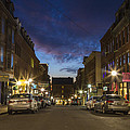 Exchange Street Portland Maine by Colin A Chase