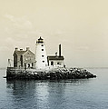 Execution Rocks Lighthouse New York  by Bill Cannon