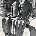 Exhibition Of Contemporary Sculture At Rodin Museum by Retro Images Archive
