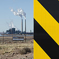 Exit 280 Cholla Power Plant by Greg Larson