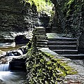 Exiting Watkins Glen Gorge by Frozen in Time Fine Art Photography