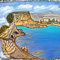 Exotic Beach Near Limassol by Augusta Stylianou