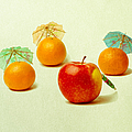 Exotic Fruit - Square by Alexander Senin