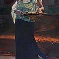 Exotic Woman by David Lloyd Glover