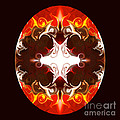 Exploding Consciousness Abstract Mandala Artwork By Omaste Witkowski by Omaste Witkowski