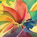 Exploding Lily by J Worthington Watercolors