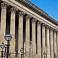 Exterior Of St Georges Hall Liverpool Uk by Ken Biggs