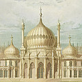 Exterior Of The Saloon From Views Of The Royal Pavilion by John Nash