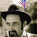 Extra With Flag In Hat The Great White Hope Set Globe Arizona 1969-2008 by David Lee Guss