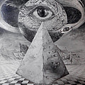 Eye Of The Dark Star - Journey Through The Wormhole by Otto Rapp