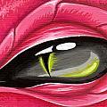 Eye Of The Rubellite Dragon by Elaina  Wagner
