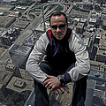 Eyes Down From The 103rd Floor Just Sitting Around by Thomas Woolworth