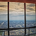 Eyes Down From The 103rd Floor Looking South by Thomas Woolworth