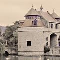 Ezelport City Gate In Bruges by Greg Matchick