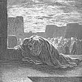 Ezra In Prayer by Gustave Dore