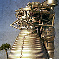 F-1 Rocket Engine by Richard Rizzo