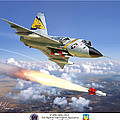 F-106 Delta Dart 5th Fis by Mark Karvon