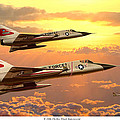F-106 Delta Dart Intercept by Mark Karvon