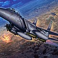 F-15e Strike Eagle Scud Busting by Stu Shepherd