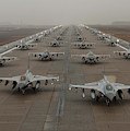 F-16 Fighting Falcons, Kunsan Air Base by Science Source