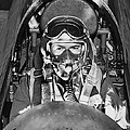 F-84 Thunderjet Pilot by Underwood Archives