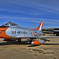 F-86h Sabre by Tommy Anderson