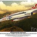 F4-phantom Wings Over Vietnam by Kenneth De Tore