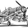 F4u Corsair by Dale Jackson