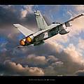 Fa-18d Hornet by Larry McManus