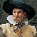 Fabbri Paolo Egisto, Portrait Of A Man by Everett