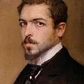Fabbri Paolo Egisto, Self-portrait by Everett
