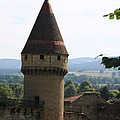 Fabry Tower - Cluny - Burgundy by Christiane Schulze Art And Photography