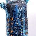 Fabulas Blue Hand  by Mark M  Mellon