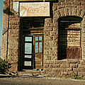 Facade American Pool Hall Coca-cola Sign Ghost Town Jerome Arizona by David Lee Guss