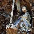 Facade Of Sagrada Familia by Bob Christopher