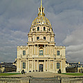 Facade Of The St-louis-des-invalides by Panoramic Images