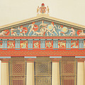 Facade Of The Temple Of Jupiter by Daumont
